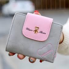 New Japan and <b>Korean Style Women Wallet</b> Animal Prints Girls ...