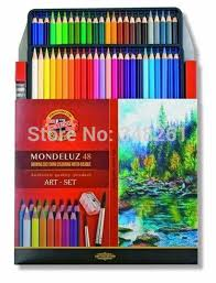 Koh I Noor Mondeluz Colour Chart Us 29 8 1 Pack Mondeluz 48 Colors Water Soluble Pencils Aquarell Drawing Water Color Pencil With Sharpener And Brush Koh I Noor Pen On Aliexpress