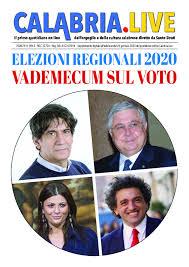 REGIONALI CALABRIA 2020