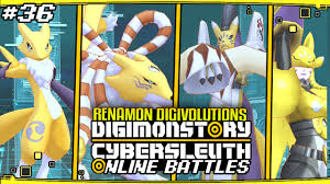 Digimon Story Cyber Sleuth Online Battles 36 Renamon