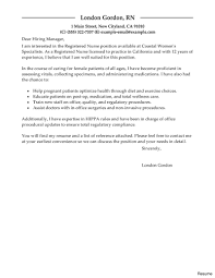 Cover Letter For Nursing Job In Doctors Office Veganbooklover Com