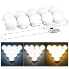 diy vanity mirror lights bulbs kit for