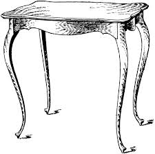 coffee table clipart black and white. table clip art coffee clipart black and white