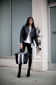 leather jackets for women street style 34