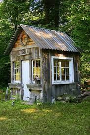 rustic gardens garden shed
