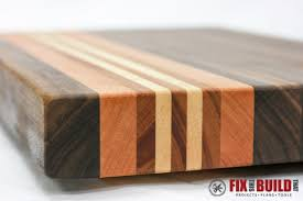 Cutting Board Patterns New How To Make A Cutting Board From Any Wood FixThisBuildThat