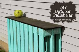 diy pallet patio bar. Bar And Stools Top Diy Pallet Making It In The Mitten DIY Outdoor Patio