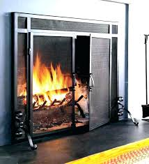 fire place glass door fireplace insert replacement wood burning stove doors latch f