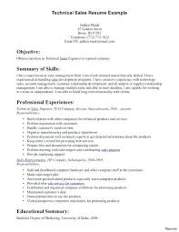 Sales Resume Summary Resume Summary Examples For Sales Sales Job ...