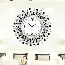 decorative wall clocks modern classic living room diamond decorative wall clock large decorative wall clocks uk