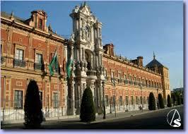 Resultado de imagen de Palacio de San Telmo en sevilla