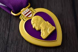 superior quality american usa army purple heart military medal chest badge cllection chest medals with ribbon box decoration