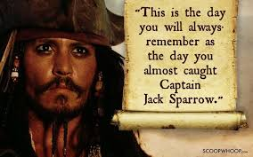 40 Memorable Quotes By Captain Jack Sparrow That Made Us Fall In Gorgeous Jack Sparrow Quotes