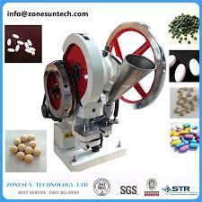 zonesun single punch tablet press machine tdp5 pill press machine pill making tablet pressing