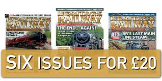 what better gift is there for rail enthusiasts than six issues of their favourite magazine this exclusive offer means you save money and have your