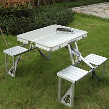 outdoor camping hiking folding table picnic fold up foldable tables chair