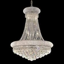 elegant lighting 1800d24c primo series crystal chandelier