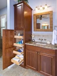 Bathroom High Cabinet Gorgeous How Tall Is A Bathroom Vanity Waist High Typical Standard