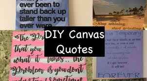 Canvas Quotes Cool DIY Canvas Quotes Mom MD Hawaii