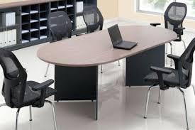 oval shape meeting table