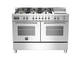 6 burner stove with double oven. Wonderful Burner 120 Cm 6burner  Griddle Electric Double Oven  Bertazzoni  Stainless To 6 Burner Stove With G