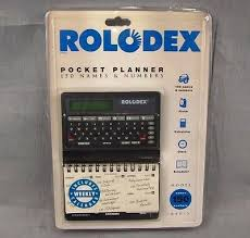 Rolodex Pocket Planner 150 Names Numbers Model Rpp 3
