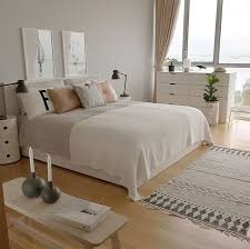 White Bedroom Cool Decoration