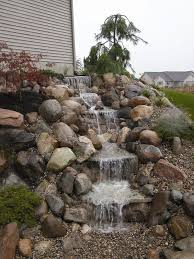 Small Picture 60 best WATERFALL ROCKS images on Pinterest Backyard ideas