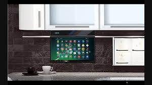 Tv In Kitchen Eidola Under Cabinet 17 Smart Tv Youtube