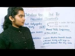 class 12th ncert history c 13 part 2 mahatma gandhi and the nationalist movement