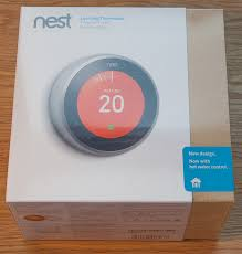 nest learning thermostat rd gen hot water installation on the nest thermostat box