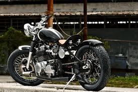 honda cb750 bobber bike exif