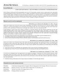 9 Best Photos Of Sample Resume Loan Officer Position