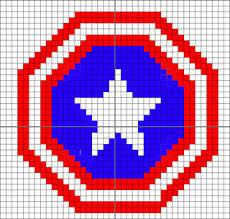 Ravelry Captain America S Shield Shield Of America Pattern By Iam