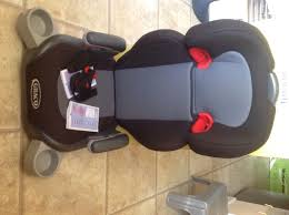 grace junior booster car seat for 3 to 12 years old excellent condition with instructions