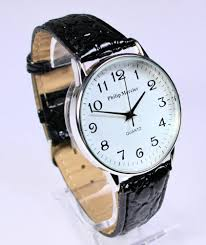 mens philip mercier big numbers watch easy to big white face this quality men s watch is from the philip mercier collection it is amazing value for money