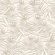 Palm Leaf Pattern Stunning Rasch Paradise Palm Leaf Pattern Tropical Floral Motif Metallic