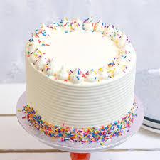 Vanilla Birthday Cake Flavourtown Bakery