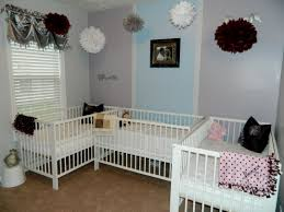 Baby Room Decoration Ideas Girl Not Pink Best About Triplets