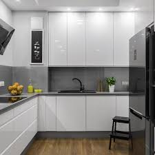 kitchen design doncaster. beautifully designed kitchen in white and grey with steel elements design doncaster