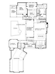single floor house plans with indoor pool house plans Civil Home Plan eplans prairie house plan hill country neo prairie style c shaped home 4237 square feet and 4 bedrooms from eplans house plan code civil homeland defense