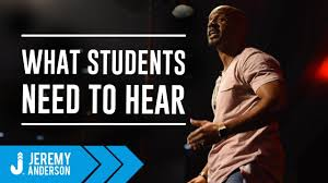 Title 1 School Speaker Jeremy Anderson Motivation For At Risk Youth Students