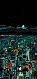 iPhone X Wallpaper Neo-Tokyo - iPhone X ...