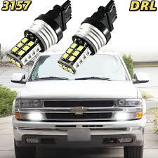2000 Gmc Sierra Daytime Running Light Bulb Number Details About 2x 3157 Led Bulb White 15 Smd Driving Daytime Running Light Drl For Chevrolet