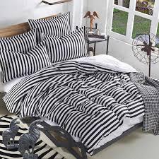 black and white striped duvet. Modren Striped Black And White Striped Bedding Gray Twin  Designs Home Pictures Inside Black And White Striped Duvet 2