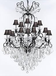 rosdorf park borunda 16 light crystal chandelier