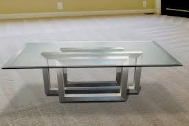 china best rectangle beveled edge clear float tempered coffee replacement glass table top wholes