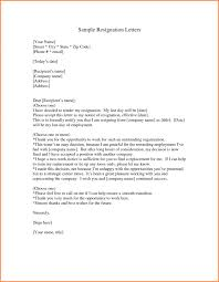 good letter of resignation gallery of how to write a good resignation letter for job pics