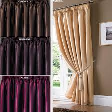 thermal blackout curtains target plus brown wall and wooden floor for home interior design ideas