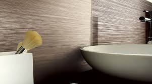 a contemporary bathroom featuring a combination of porcel thin pattaya wood effect 1200x600mm porcelain tiles